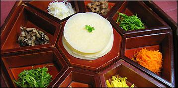 North korea vs south korean food