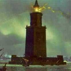 Lighthouse Of Alexandria Seven Wonders