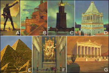 Seven Wonders of the World - by wonder authority Howard Hillman